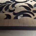 6mm oak veneered MDF