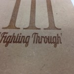 laser cut and engraved MDF